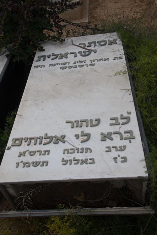 אסתר ישראלית (שורה ז'- 8) ✎