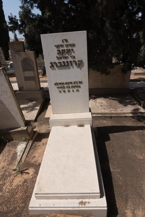 יעקב קרוננברג (שורה יז'- 43)