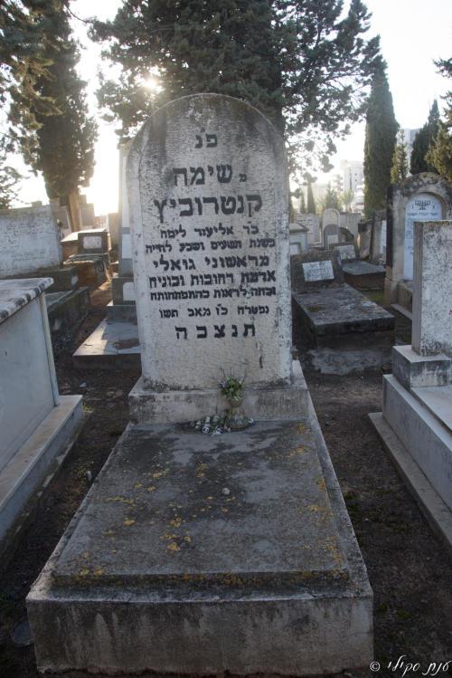 שימה קנטורוביץ (שורה כג'- 39) ✎