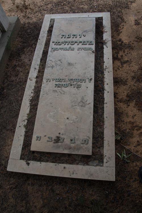 יוהנה גונדרסהימר (שורה ד'- 12)