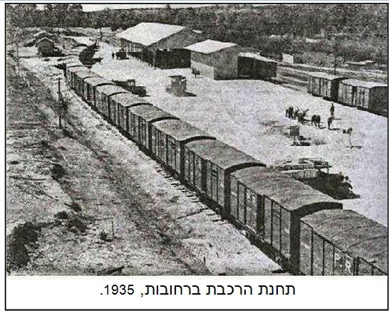 תחנת הרכבת 1935