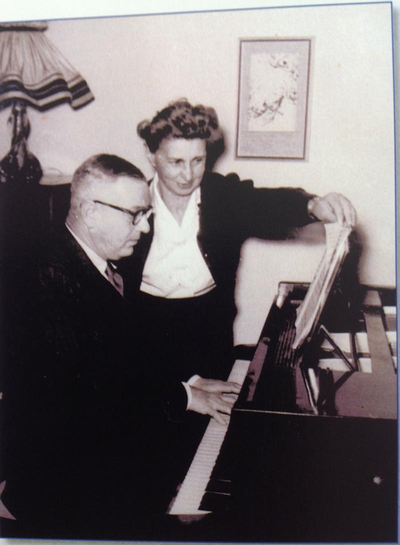 עליזה וקורט לוינזון