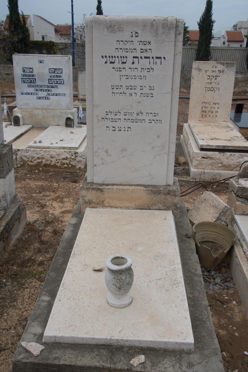 יהודית שושני (שורה ד'- 50) ✎