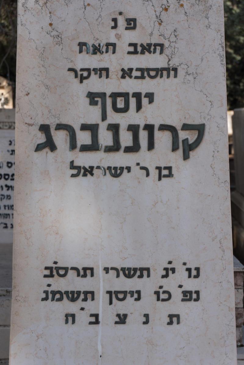 יוסף קרוננברג
